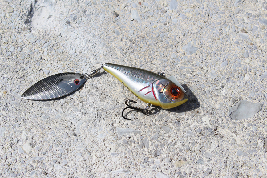 Hart Diamond Vib bladetail lure