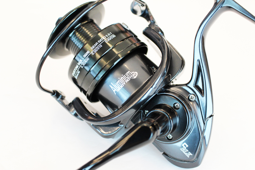 HART CUSTOM BLK JIGGING REEL